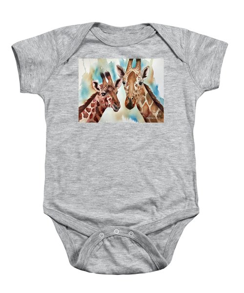 Giraffes Baby Onesie