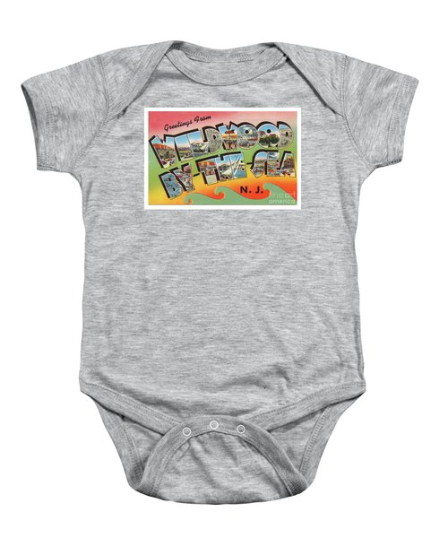 Wildwood Greetings - Version 3 Baby Onesie