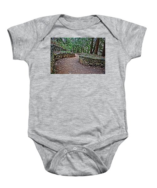 Just Around The Bend Baby Onesie
