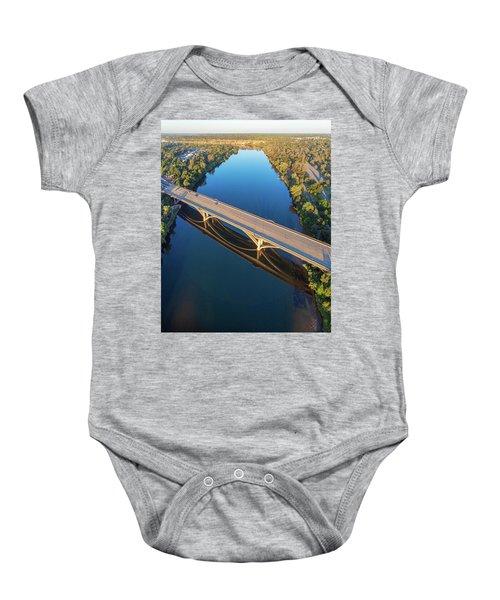 Lake Natoma Crossing Baby Onesie