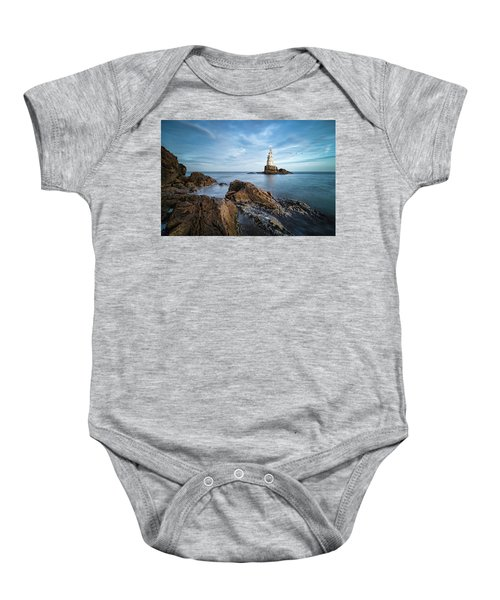 Lighthouse In Ahtopol, Bulgaria Baby Onesie