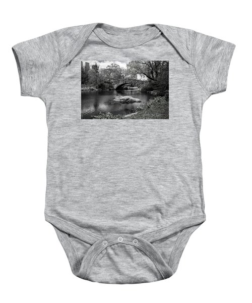 Park Bridge Baby Onesie