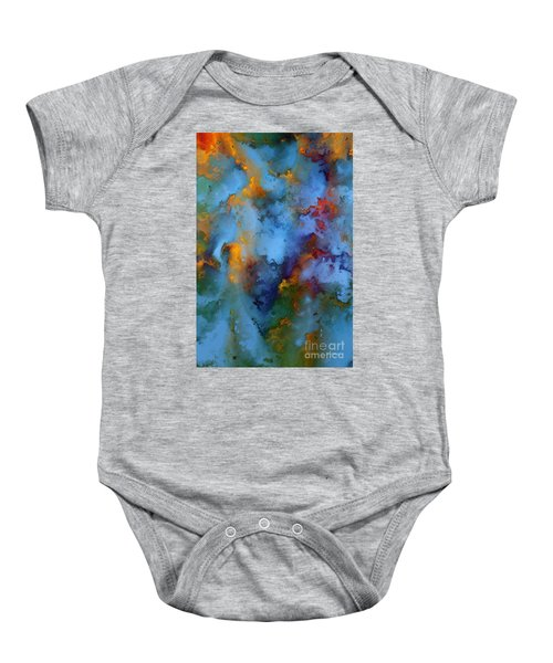 1 Peter 5 7. He Cares For You Baby Onesie