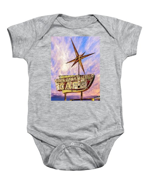 Ranch House Cafe Baby Onesie