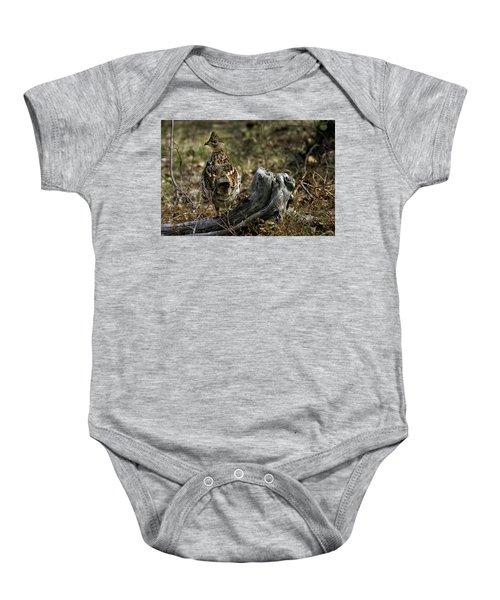 Ruffed Grouse 50701 Baby Onesie