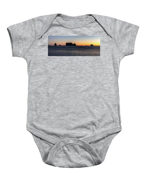 Second Beach Baby Onesie