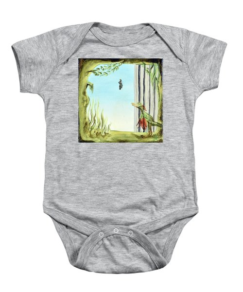 The Origin Of Species -a Recurring Pattern- Baby Onesie