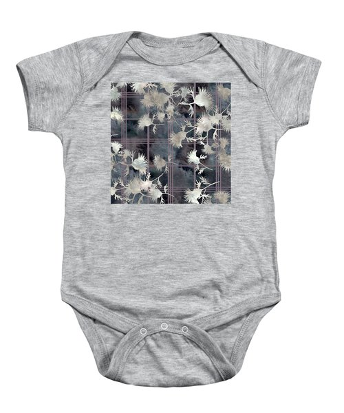 Thistle Plaid  Baby Onesie