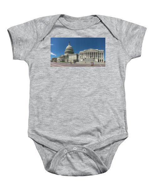 United States Capitol  Baby Onesie