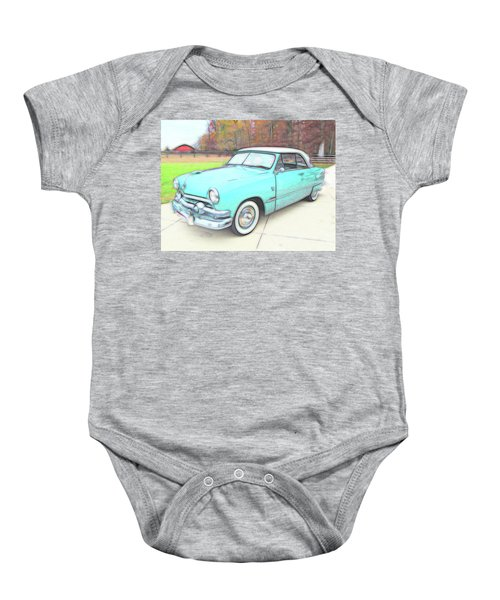 1951 Ford Baby Onesie