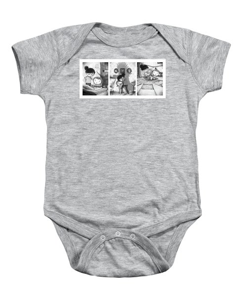 The Snarkle Beast Baby Onesie