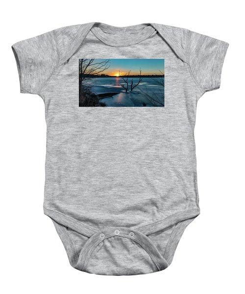 2019-012/365 January Sunset Baby Onesie