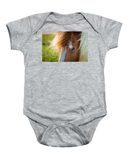 Icelandic Horse Baby Onesie