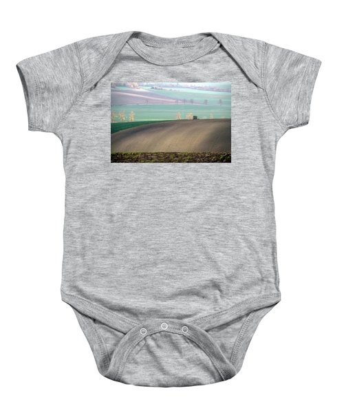 Autumn In South Moravia 5 Baby Onesie