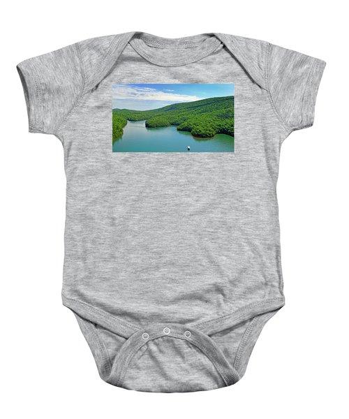 2017 Poker Run, Smith Mountain Lake, Virginia Baby Onesie