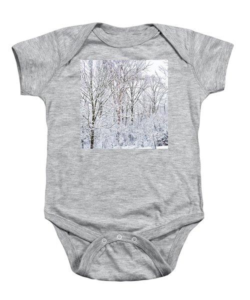 Winter Wonderland  Baby Onesie
