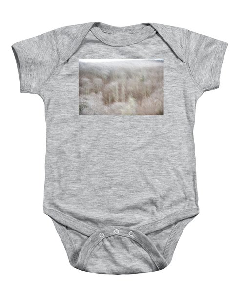 A Ghost Of Trees Baby Onesie