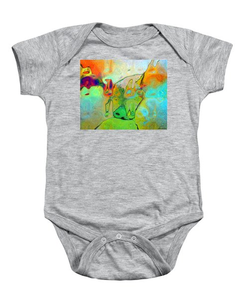 A Message For Miro Baby Onesie