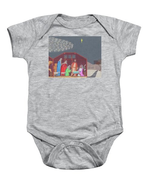 A Star Is Born Baby Onesie