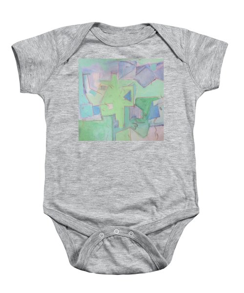 Abstract 3 Baby Onesie