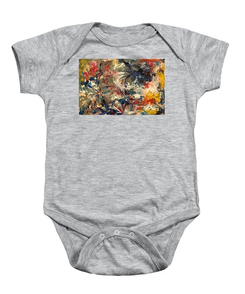 Abstract Puzzle Baby Onesie