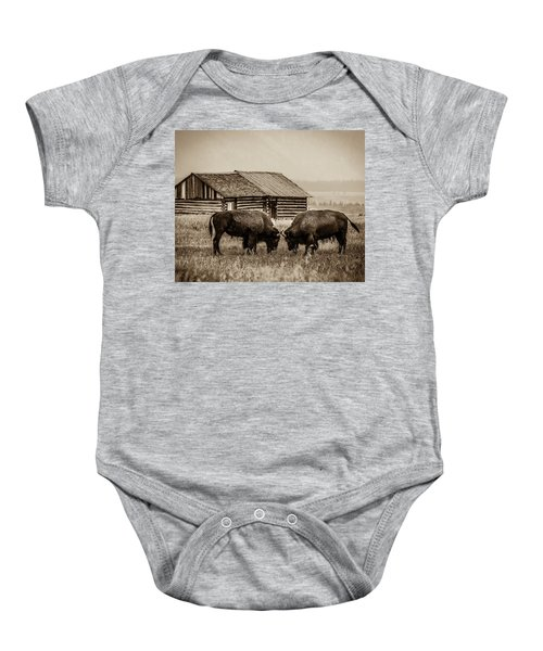 Age Old Conflict Baby Onesie