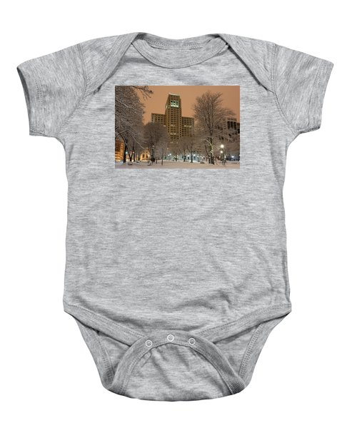 Alfred E. Smith Building Baby Onesie