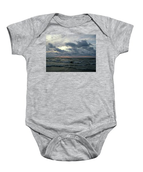 All Beached Up Baby Onesie