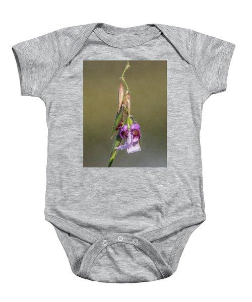 Alligator Flag Baby Onesie