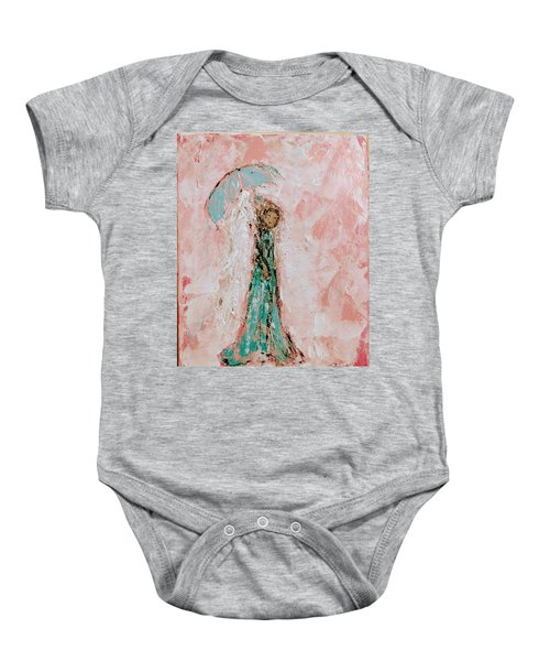 Angel By Your Side Baby Onesie