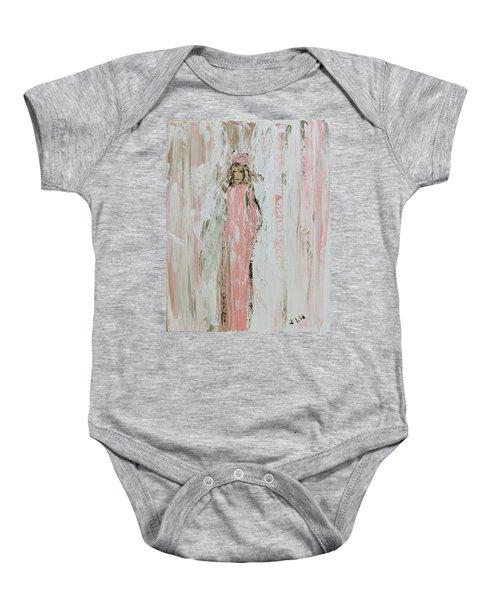 Angels In Pink Baby Onesie