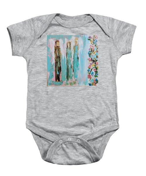 Angels In The Garden Baby Onesie