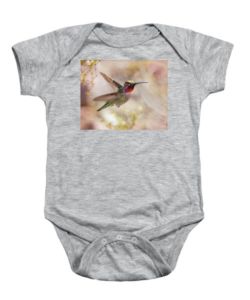 Anna's Hummingbird Baby Onesie