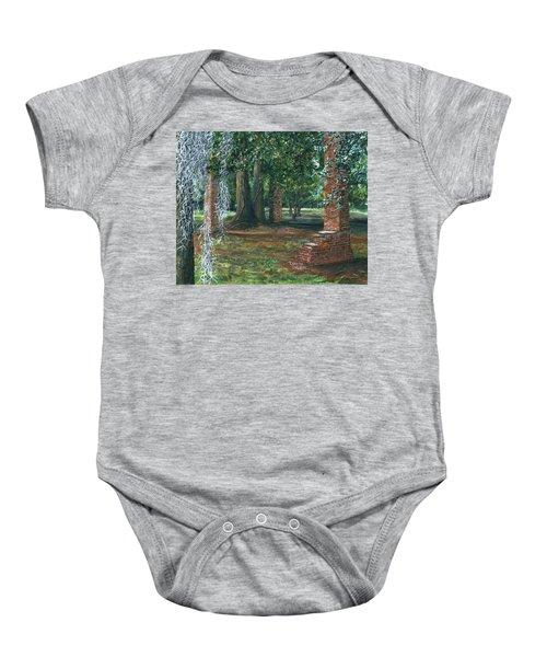 Ardoyne Ruins Near The Mansion, Houma, Louisiana Baby Onesie