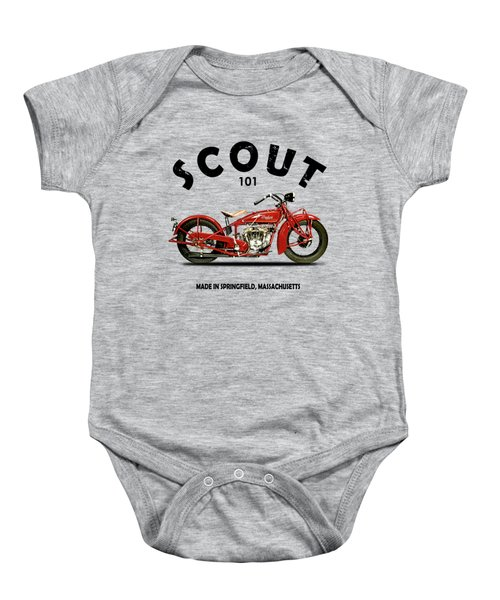 The Scout 101 1929 Baby Onesie