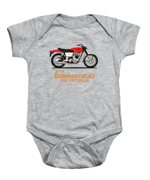 Norton Commando Fastback Baby Onesie