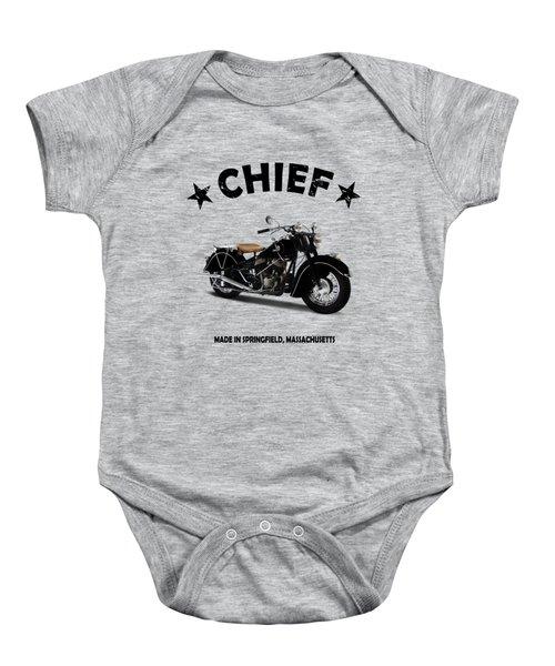 Indian Chief 1946 Baby Onesie