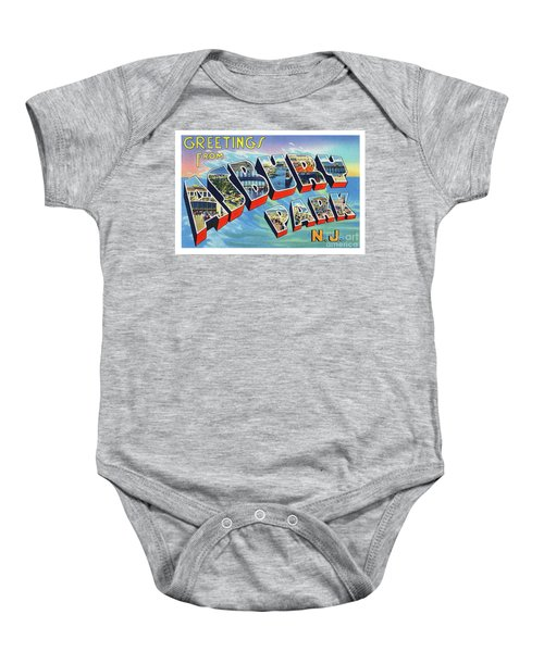 Asbury Park Greetings Baby Onesie