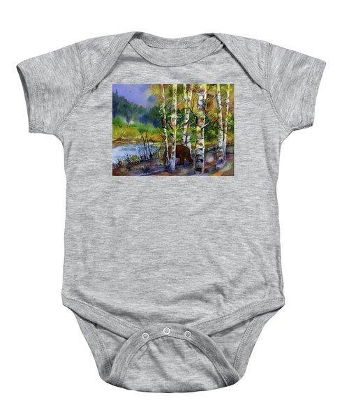 Aspen Bears #2 Baby Onesie