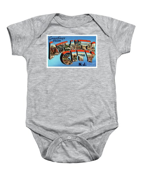 Atlantic City Greetings #3 Baby Onesie