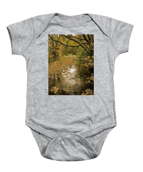 Autumn Forest Baby Onesie