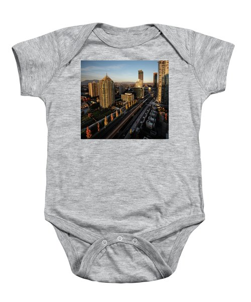 Autumn In Burnaby Baby Onesie