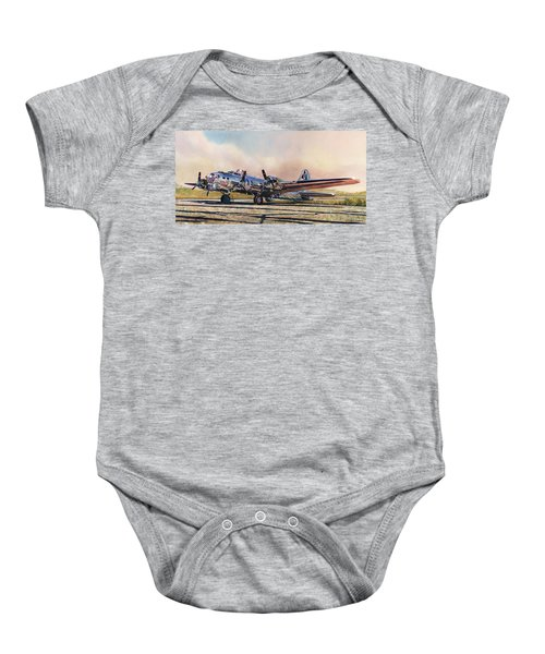 B-17g Sentimental Journey Baby Onesie