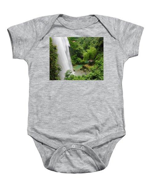 Baiyun Waterfall Baby Onesie