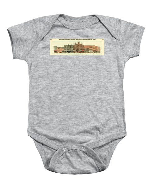 Baxter's Panoramic Business Directory Baby Onesie