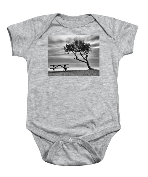 Beach Tree Baby Onesie