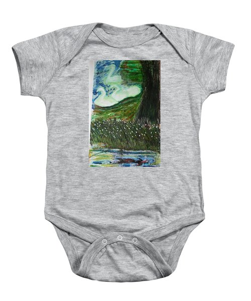 Beauty Is His Abusive Kingdom Baby Onesie
