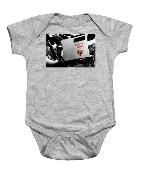 Beech At-11 In Selective Color Baby Onesie