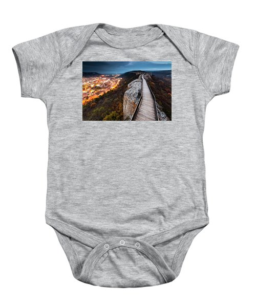 Between Epochs Baby Onesie