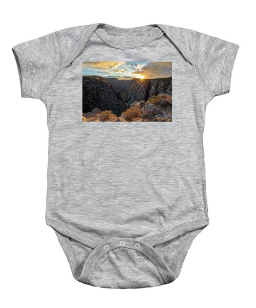 Black Canyon Sendoff Baby Onesie